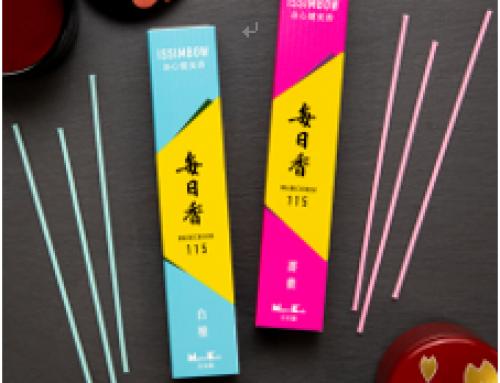 日本香堂新商品「毎日香 ISSIMBOW お香」を先行販売 ~430年間受け継がれてきた伝統技術に基づくお香を中国のお客様へ~